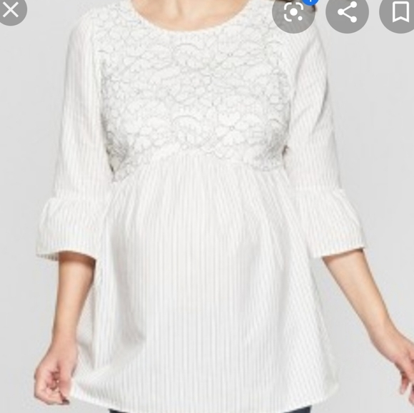 Isabel Maternity by Ingrid & Isabel Tops - 💎NWOT LACE TOP💎